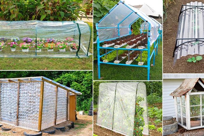 طرح کم هزینه برای ساختن گلخانه