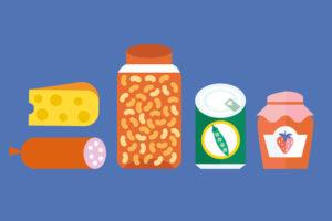 روش های نگهداری مواد غذایی