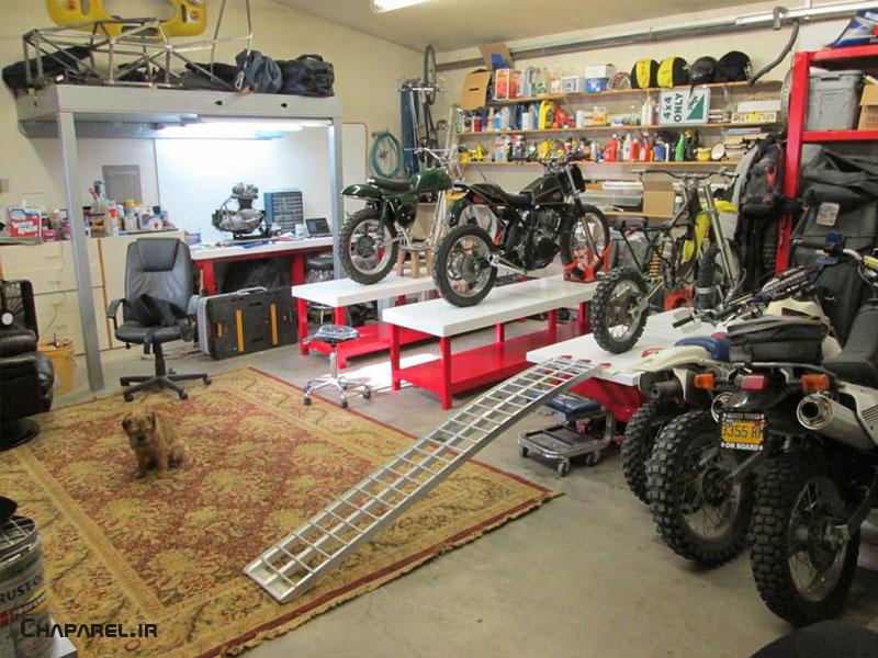 تعمیرگاه موتورسیکلت