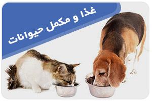 غذا و مکمل حیوانات
