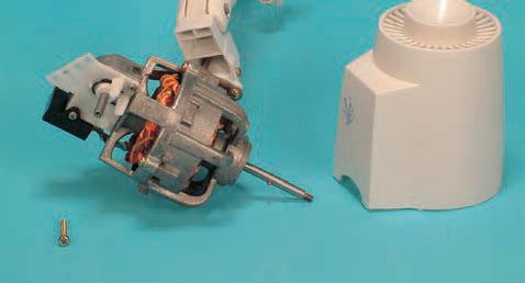 قاب پلاستیکی عقب موتور پنکه