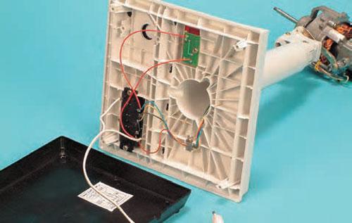 نقشه مونتاژ مدار الکتریکی پنکه رومیزی